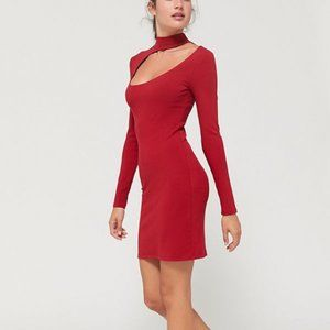 NWT Urban Outfitters Cutout Mockneck Sweater Dress